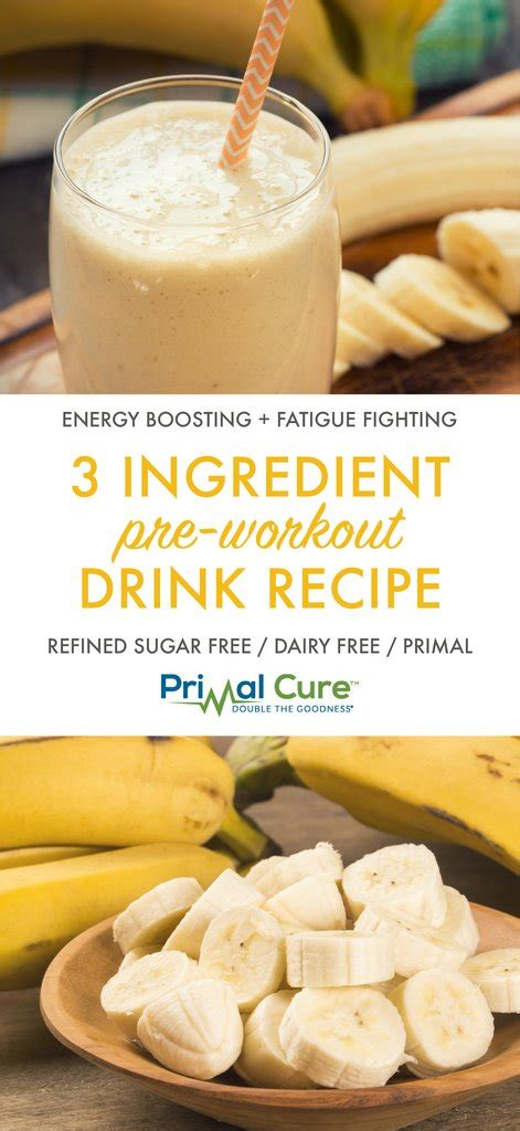 The Best Pre-Workout Drink Recipe – Primal Living