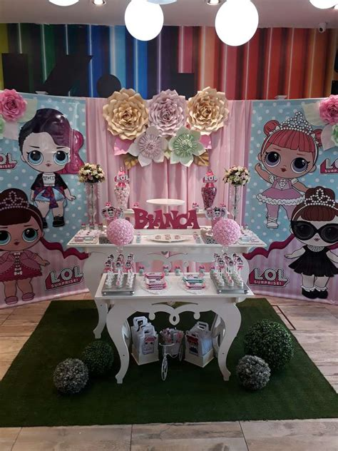 Lol Surprise - 6 years Bianca Birthday Party Ideas   Photo