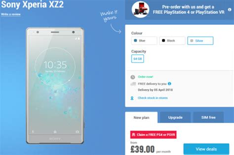 Sony Xperia XZ2 pre-orders start today overseas; reserve a
