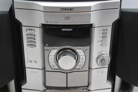 Sony Mhc-Gx25 3 Cd Changer And Cassette Tape Stereo System