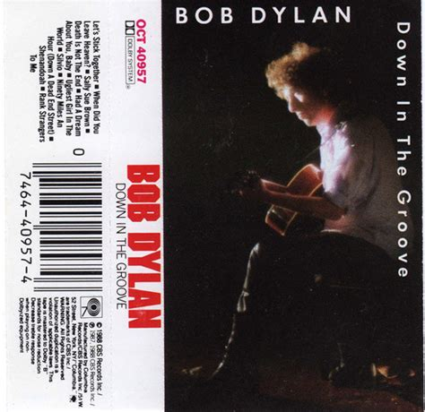 Bob Dylan - Down In The Groove (1988, Cassette) | Discogs