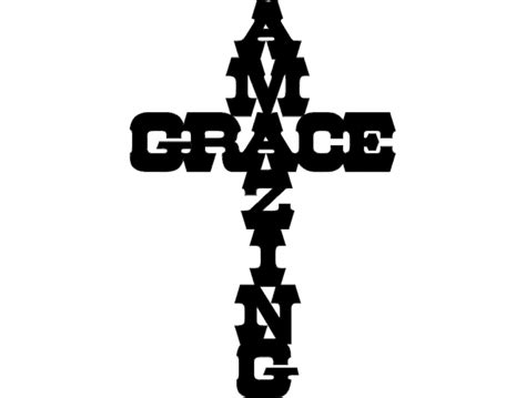 Amazing Grace dxf File Free Download - 3axis