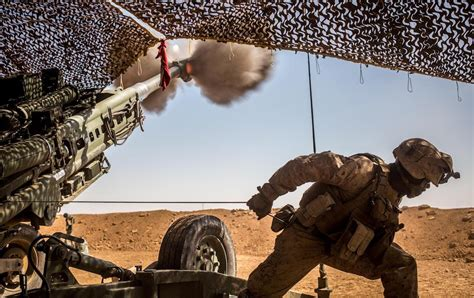 Marines in Syria fired more artillery than any battalion