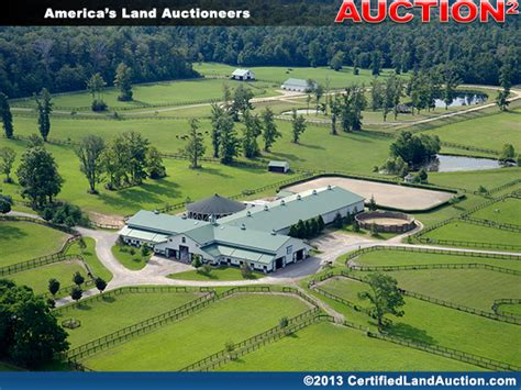 Absolute Auction Eutrophia Farms in Ohio with Horses