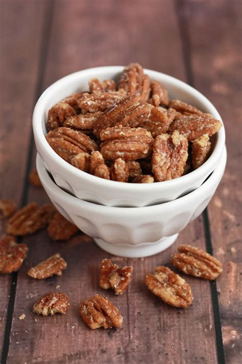 Maple Candied Pecans - One Lovely Life