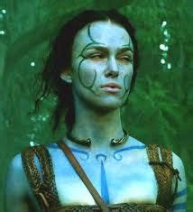 woad face paint - Google Search | Warrior woman, Celtic