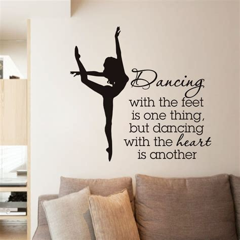 Quotes Decal For Dancing School Motivated Words Poster
