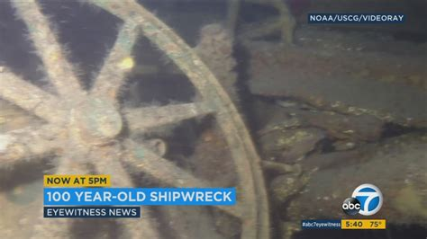Remains of historic ship found off SoCal coast
