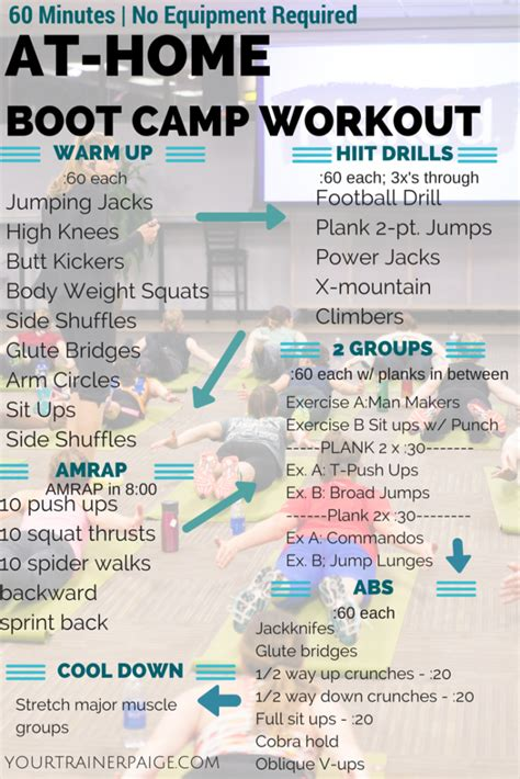 Naked (Juice) Boot Camp Workout - No Equipment Required