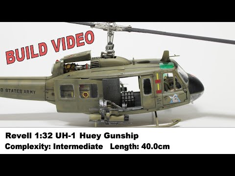 The Bell UH-1 Huey Gunship - Amazing Pictures and Assault
