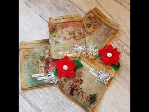 Cards, Card toppers, Decoupage printables
