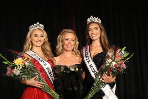 Ready for their close-ups: Malibu beauty queen wins the