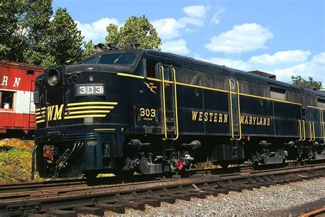 Western Maryland 303 | An Alco FA2 looks at pristine as