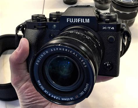 The Fujifilm X-T4 Mirrorless Camera Is Here: Hands-On
