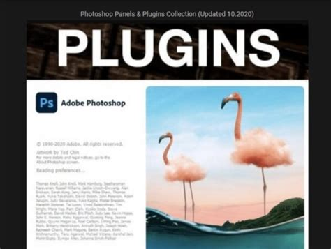 Photoshop Panels & Plugins Collection (Updated 10