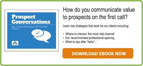 Prospect Conversations: How To Open the Dialogue With Your