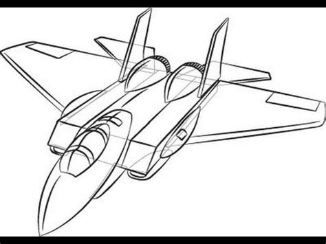 [TUTORIAL] How to Draw a Plane! **SUPER EASY** - YouTube
