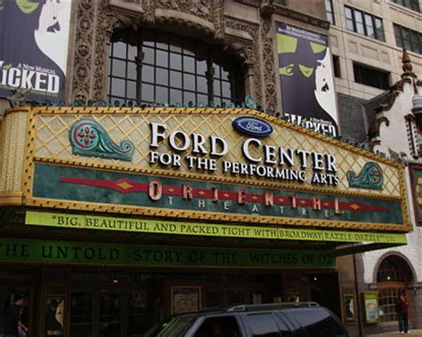 Chicago Oriental Theater - Ford Center Chicago