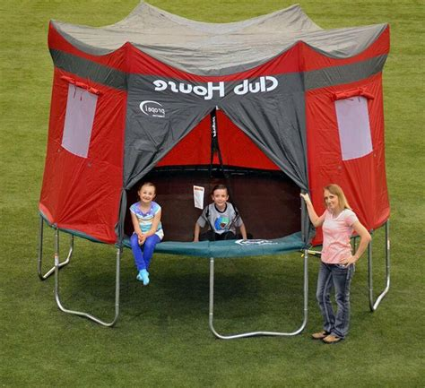15 FT Waterproof Trampoline Tent Clubhouse Cover Enclosure