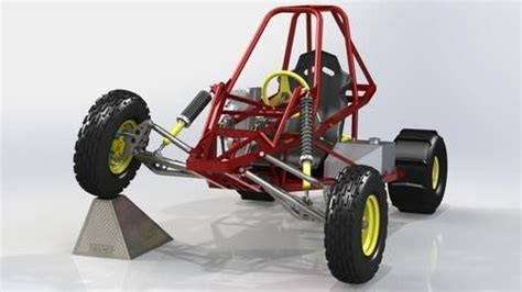 Edge Sidewinder buggy with front suspension upgrade   Off