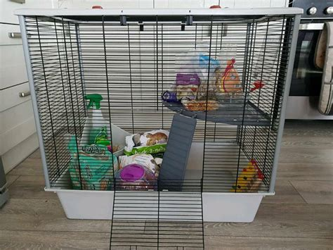 Rat cage/chinchilla cage full set up/starter set up | in