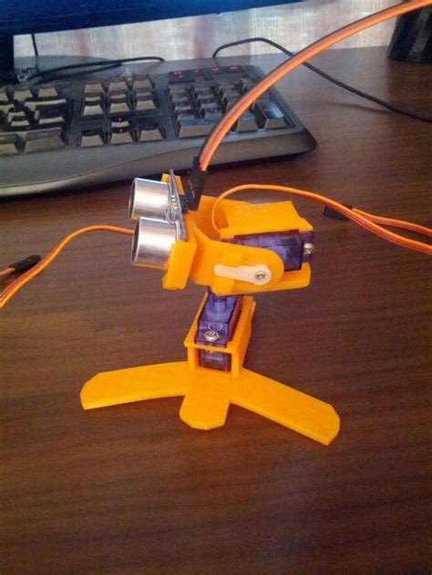 Ultrasonic 3D Scanner by Pyromaniac - Thingiverse | 3d