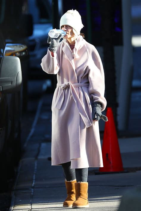 Katie Holmes Street Style - Out in NYC 12/10/2018 • CelebMafia