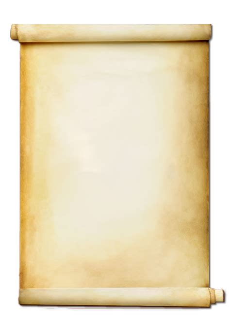 Collection of Scroll PNG