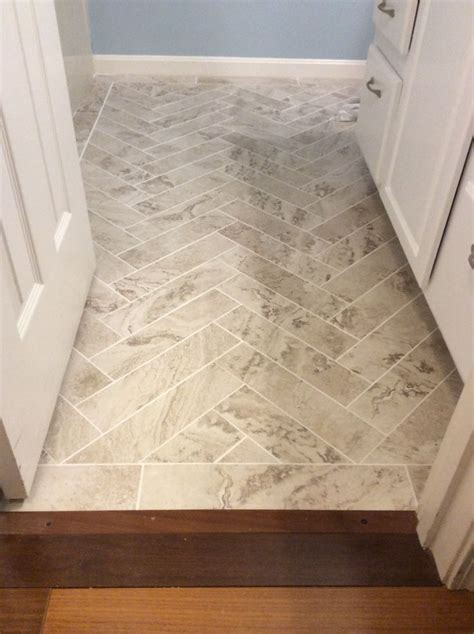 """Peel and stick Light Travertine 18"""" x 18"""" from Home Depot"""