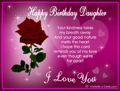 Birthday Wishes for Daughter Messages, Greetings and