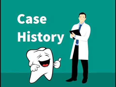 Case history diagnosis and treatment planning in pediatric
