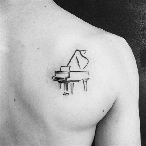 Piano Tattoo Designs, Ideas and Meaning | Tattoos For You