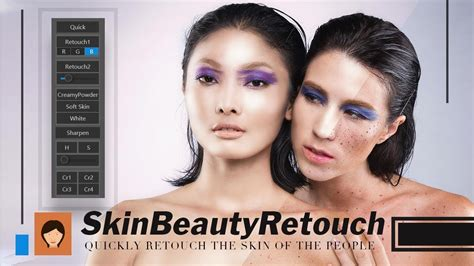 Photoshop Extensions(add-ons):Skin Beauty Retouch - YouTube