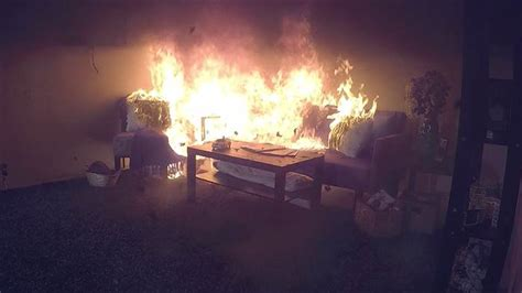 Newer homes and furniture burn faster, giving you less