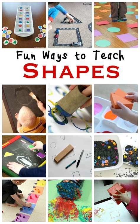 How to Teach Shape Recognition to Preschoolers   Shape