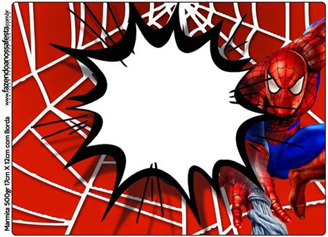 Spiderman Free Printable Candy Bar Labels