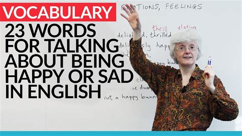 Improve Your Vocabulary: 23 words for talking about