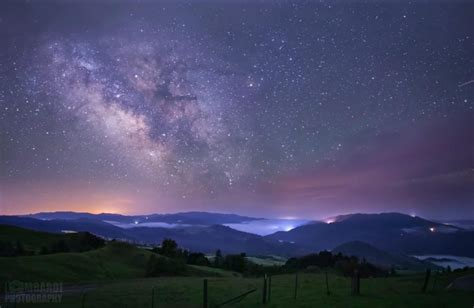 Night Sky Lights Up During Spring in the Emerald Counties