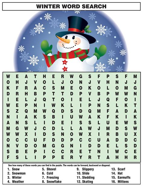 Word Search for Kids   Activity Shelter