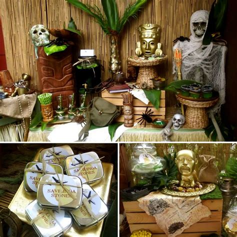 Indiana Jones Party - Birthday Party Ideas for Kids