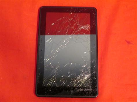 Broken Kindle Fire 1st Tablet With Screen