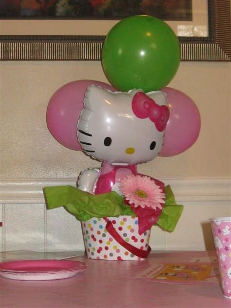 Olivia's Hello Kitty Party - The bucket was from Target