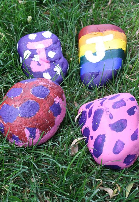 Summer Art: Not your average cave man's rock painting