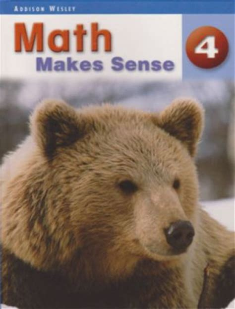 Math Makes Sense Text Book 4 [9780321118196] - My Gifted Child