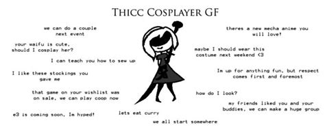 Cosplayer gf | Ideal GF | Know Your Meme