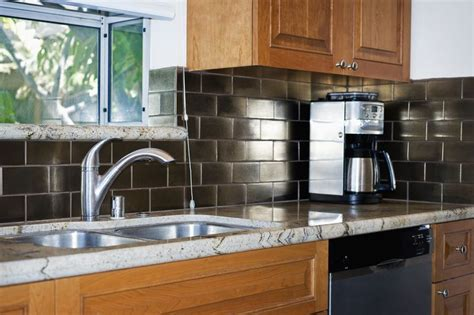 Learn How to Use a Peel and Stick Backsplash | Home depot