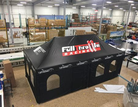 Gallery   Examples of Custom Pop-Up Tents & Branded Event
