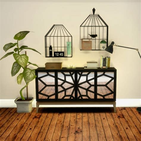 Leo 4 Sims: Cage Shelves • Sims 4 Downloads