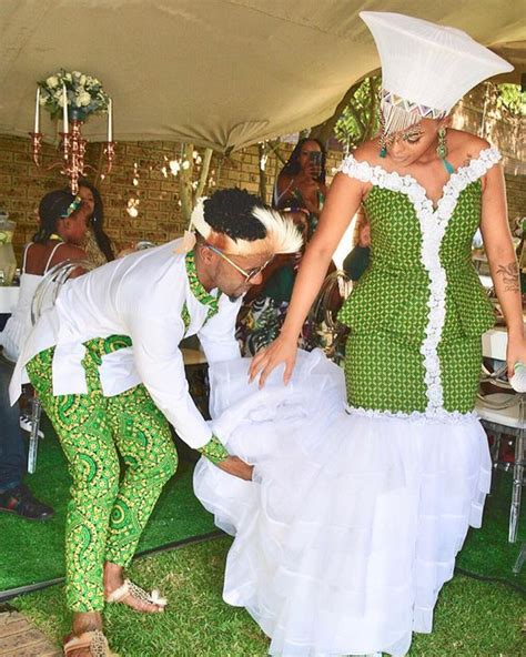 Gorgeous Zulu And Sepedi Traditional Wedding Dresses