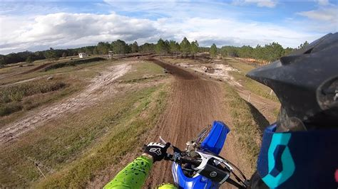 2019 YZ450F FIRST LAPS! - YouTube